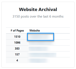 website archival1